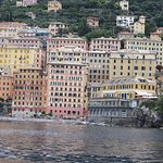 Camogli the little fishing village we moored in to stroll around for half an hour or so