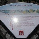 Display informativo da Promenade du Peyrou