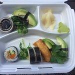 Liten sushi (8 bitar) vegan.