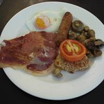 English breakfast.