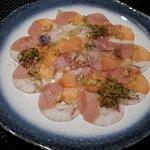 3 fish carpaccio