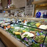 Vegetables and fruits bar