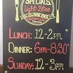 Our Food Service Times