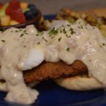 Country Fried Steak Country Benedict