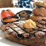 juicy 10oz rump steak, 21 days aged!!
