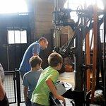 Heavy machine shop