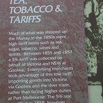 Tea, Tobacco and Tariffs