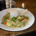 Thai green veggie curry