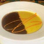 Appetizer-black bean and corn soup