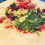 One of the most delicious burrito's in town !