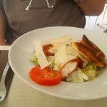 Chicken Cesaer salad