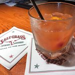 Bartender made my drink to order - perfect! Great Happy Hour deals! 2 drinks + app for $12