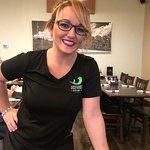 our waitress