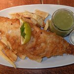 perfect Haddock and Chips with Mushy Peas