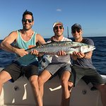 Captain Ryan NEW Fishing with GBC member - Kingfish