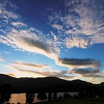Coniston Water and the evening sky