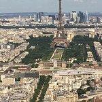 Pohľad na Eiffelovku