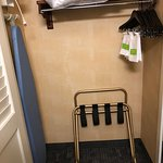 Iron and luggage stand