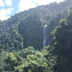 Largest waterfall in Central America