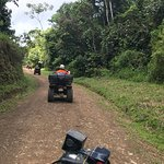 Quick picture of our journey through the jungle.