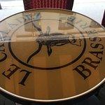 Logotipo nas mesas