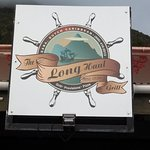 Front of Long Haul Grill, Saba Island