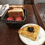 Flat bread and tortilla