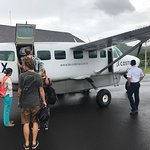 Puddle Jumper to and from Managua.