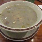Rhode Island clam chowder