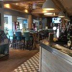 Bar area.