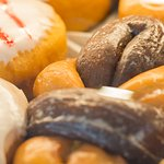 We have over 75 different varieties of donuts.