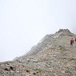Grace Ridge ascent