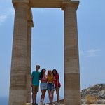 The best most popular spot for pictures in Lindos