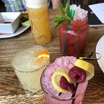 Various cocktails and mocktail