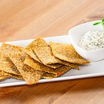 Crackers with Dill Nut Cheese