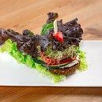 Falafel Lettuce Wrap