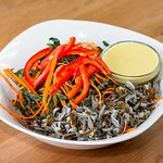 Kale Chiffonade Salad with Wild Rice