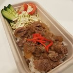 A customer favourite, the super delicious Beef Gyudon!