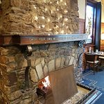 Warm yourself by our open fire this winter
