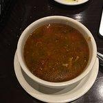 Sausage & Lentil soup.