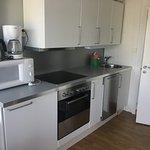 Economy cabin kitchen