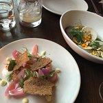 Shrimp and Tuna dish