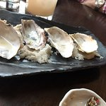 Empty dish of fantastic oysters!