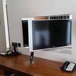 Rotating TV.