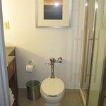 Averge-sized bathroom