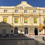 Restaurante Vino Mio is located at the side of Teatro Cervantes