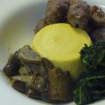 antipasto budino di parmigiano