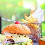 OMG Grilled Chicken Burger
