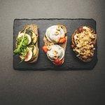 Bruschettas for vegetarians