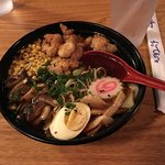 Ramen bowl with chicken